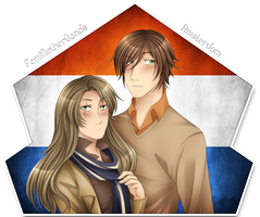 .:AT:. Fem!Netherlands and Amsterdam by kamillyanna