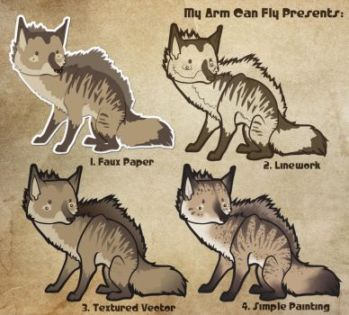 A is for Aardwolf by myarmcanfly