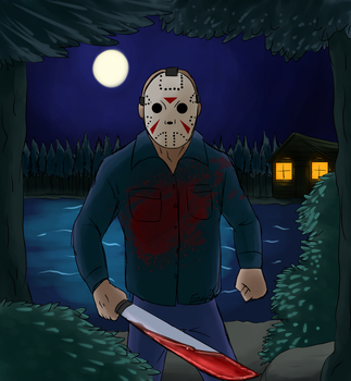 Friday the 13th - Jason of Camp Blood by EnvyQ00