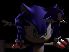 3d sonic by vissroid