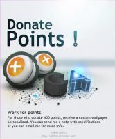 Donate Points ! by CaHilART