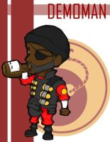 TF2 Chibi Red Demoman by Fir3Ph03n1X