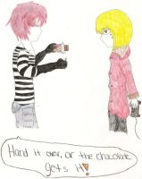 Matt and Mello by Kisa-Akemi
