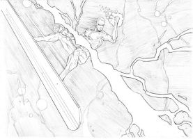 Thor Vs. Silver Surfer 3 by vmarion07