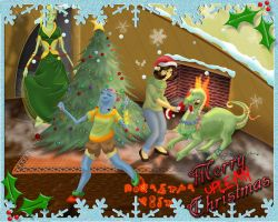 Merry Uplean Christmas by princesszelee