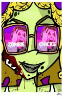 Almost A Famous Zombie by mikehampton
