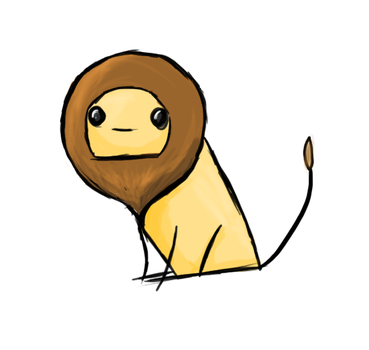 Stealable Lion by ivorykeys0821