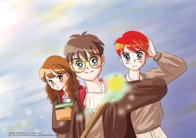 Harry Potter by detectiveblue