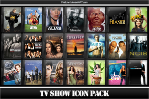 TV Show Icon Pack 4 by FirstLine1
