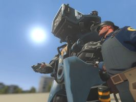 The Iron Giant. by SniperTheWolf