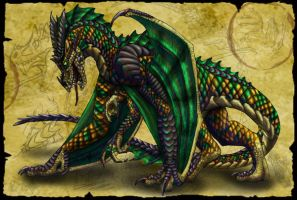 The Dragon Again by Nashoba-Hostina