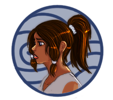 Here.. have a Korra doodle by trishna87