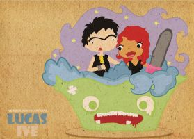 Lucas and me by iveinbox