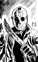 Jason Vorhees by IanJMiller