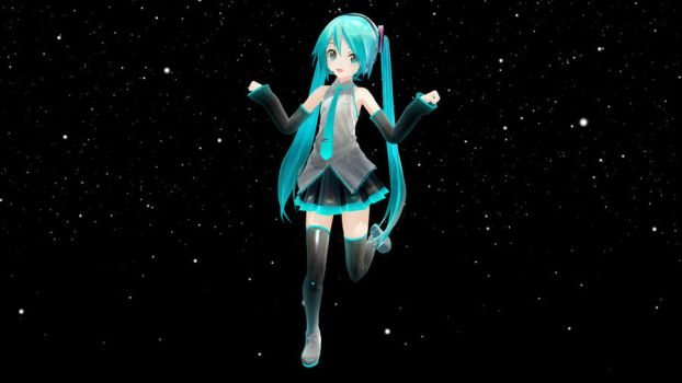 MMD Newcomer: Appearance Miku by Supersonia