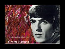 George Harrison by BendxThexBracket