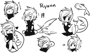 Happy Ryann Doodles by Silent-Koi