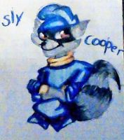 Sly cooper by LULUluvs2draw