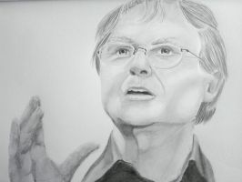 Richard Dawkins by OhSnapStephanie