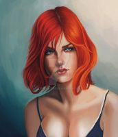 Red Head by emmgoyer7