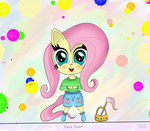 Fluttershy's Paint Time! by Loyther