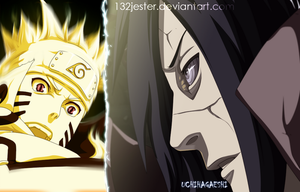 Naruto VS Madara 601 by 132Jester