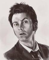David Tennant by MelissaDalton