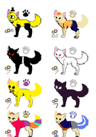 Wolf Adopts by BillDipshipper19