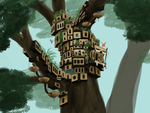 Tree City by Kyie27