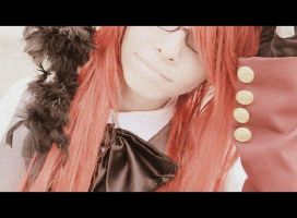 Grell Steampunk Cosplay random thing pic by Uloids