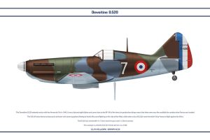 D.520 France GC III-7 1 by WS-Clave