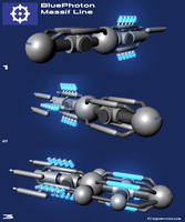 Blue Photon Ship Concepts by AeroJett