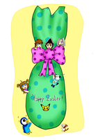 Happy Easter!!! by IperGiratina98