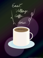 Places Of Interest Series 2 East Village Coffee by coinoperatedbear