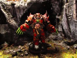 Warhammer 40k Chosen of Chaos with Lightning Claws by Minisnatcher