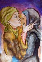 Kiss Revisited:Ya Habibti Ana by senf-a