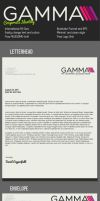 Gamma Clean Corporate Identity by KaixerGroup