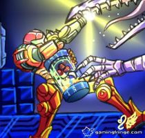 Super Metroid by Meibatsu