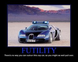 Bugatti Demotivational Poster by QuantumInnovator