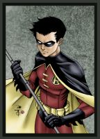 Robin Sketch Colored by James Mason by NewEraStudios