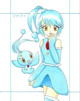 Manaphy Gijinka by RoCkBaT