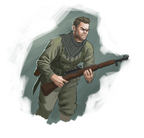 Karl Fairburne -Sniper Elite by AngusMcLeod