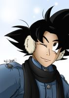 Winter - Goku by xH-Chanx