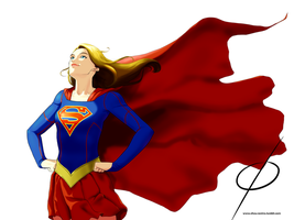 Supergirl TV Style by chou-roninx