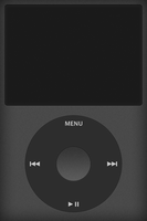 iPod Classic Black by andrew-gw