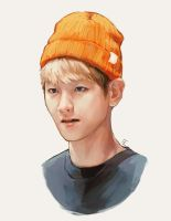 baekhyun by genicecream