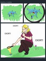 Dota2 Kids: Exort! by JujiBla