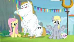 Derpy doesn't give a fuck about haters. by CMC--Scootaloo