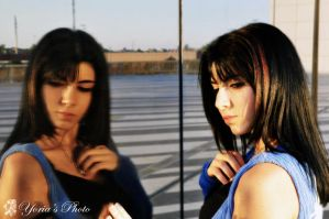 Rinoa Heartilly reflection by PrincessRiN0a