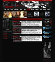 iNET.GamerZ Clantemplate by DynamiteDLX